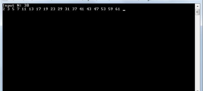 Поиск простых чисел. Решето Сундарама на Си