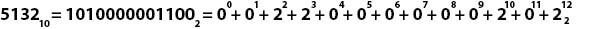 Перевод из десятичной системы счисления в двоичную