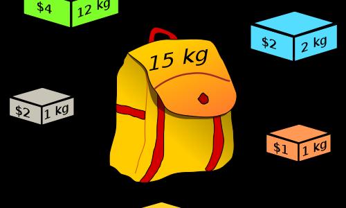 Задача о рюкзаке: алгоритм, решение