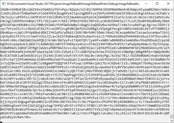 Изображение в кодировке base64
